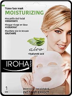 Iroha Gesichtsmaske Aloe Vera, Green Tea und Ginseng, 3er Pack 3 x 23 ml
