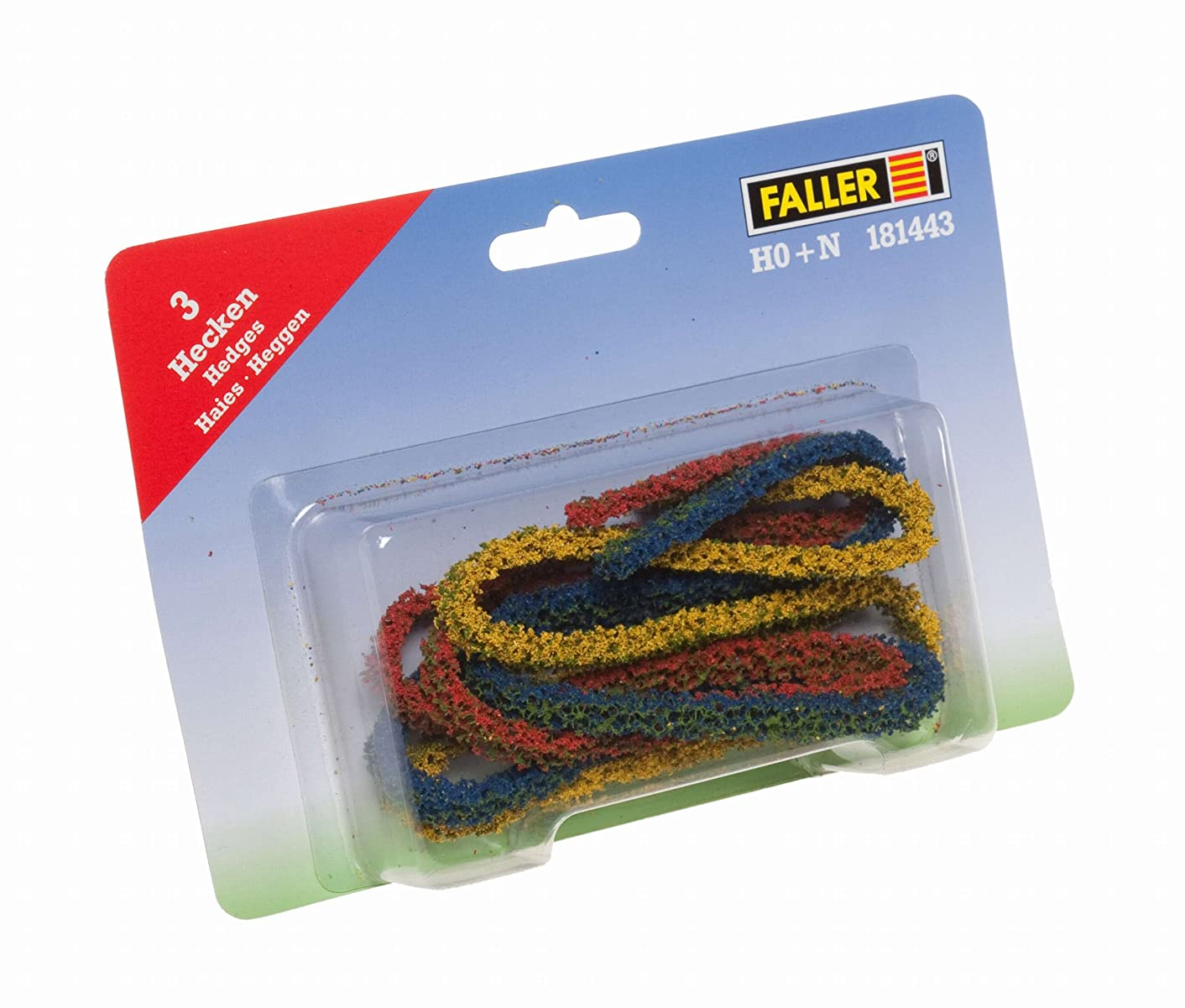 Faller 181443 Bushes/Hedges,Red,Green, Scenery and Accessories, Yellow