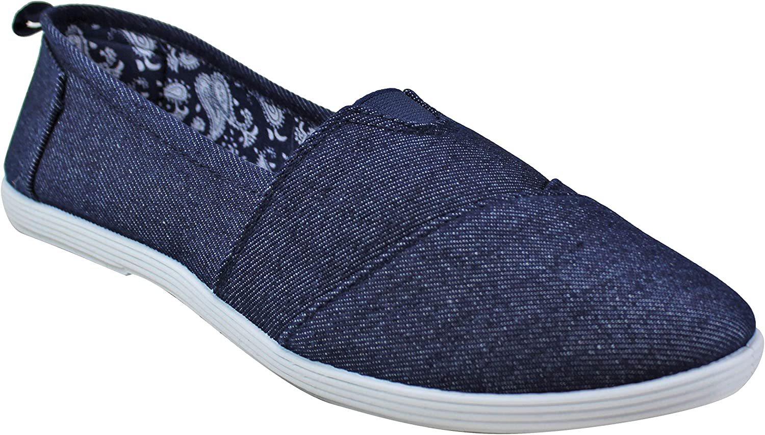 Take A Walk Canvas Slip-on for Women