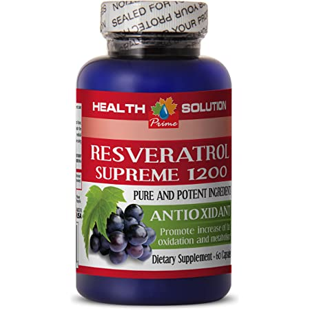 Resveratrol Tincture - RESVERATROL Supreme 1200MG - Promote Weight Loss (1 Bottle)