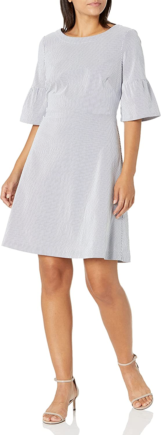 Amazon New Orleans Mall Brand - Indianapolis Mall Lark Ro Women's Sleeve with Half Stretch Dress