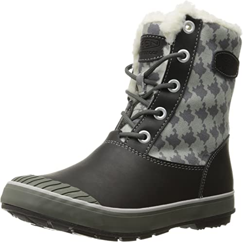 KEEN Elsa démarrage WP W chaussures d'hiver houndstooth