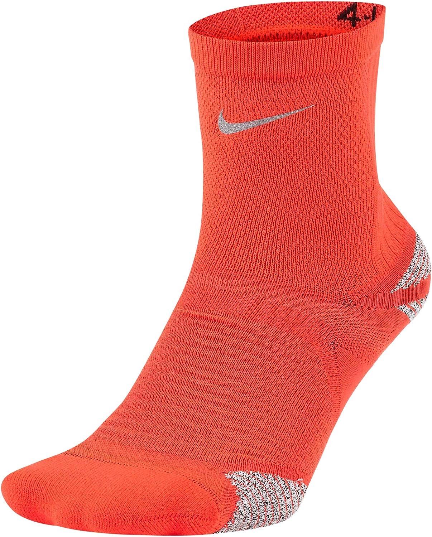Nike Racing Bright Crimson Unisex Ankle Socks Men Size