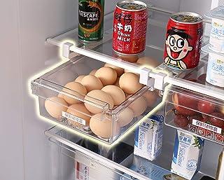 HapiLeap réfrigérateur Organiseur de tiroir Design Unique Pull Out bacs pour réfrigérateur Support Boîte de Rangement de M...
