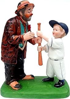 Choosing Sides - ''The Original Emmett Kelly Circus Collection'' Hobo Clown Figurine
