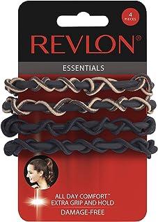 Revlon Extra Grip 4 Piece Silicone Hair Elastics