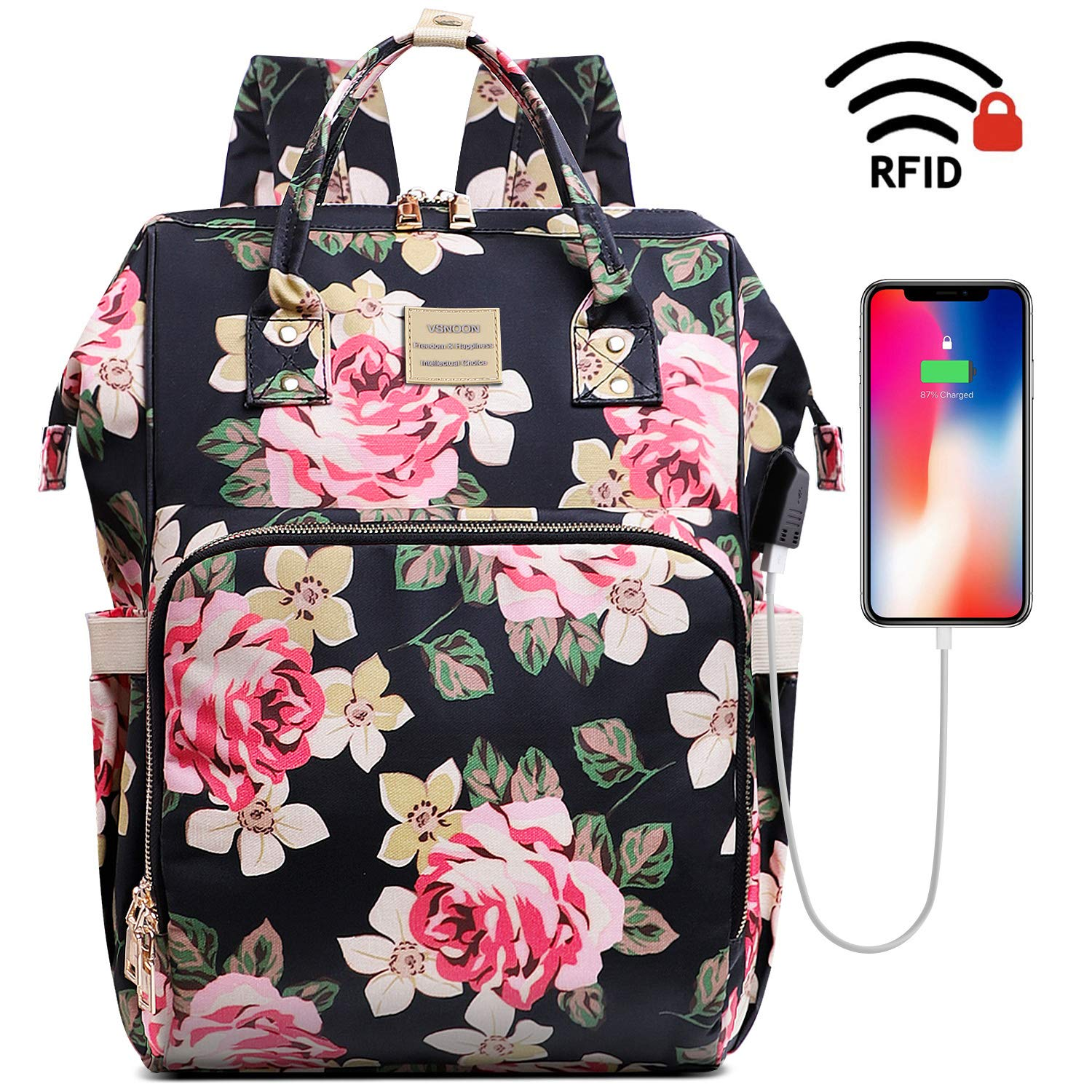 Backpack Stylish Charging Resistant Business