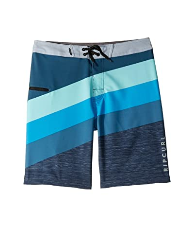 Rip Curl Kids React Boardshorts (Big Kids) (Blue) Boy
