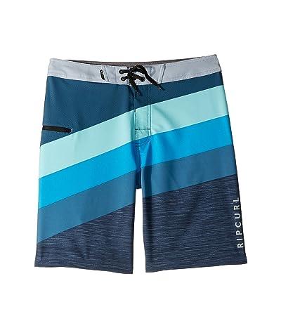 Rip Curl Kids React Boardshorts (Big Kids) (Blue) Boy