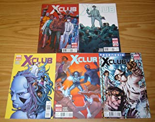 X-Club #1-5 VF to VF/NM complete comic book series - X-Men spin-off ; Marvel
