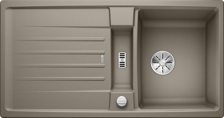 Weiß 524927 Lexa 5 S Küchenspüle, Tartufo, 50 cm Unterschrank
