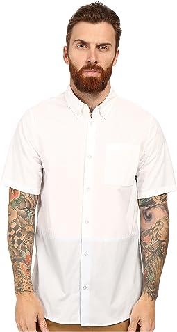 Holgate Blocked Woven Short Sleeve Shirt