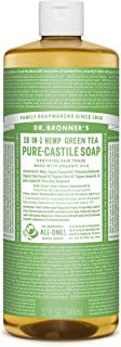 Dr Bronner Organic Green Tea Castile Liquid Soap 946ml
