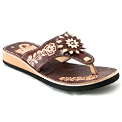 c3f784ac6 Rampos Mx Womens Mexican Handmade Leather Huaraches Sandals S ..