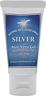 Natural Path Silver Wings Silver Aloe Gel 200 PPM