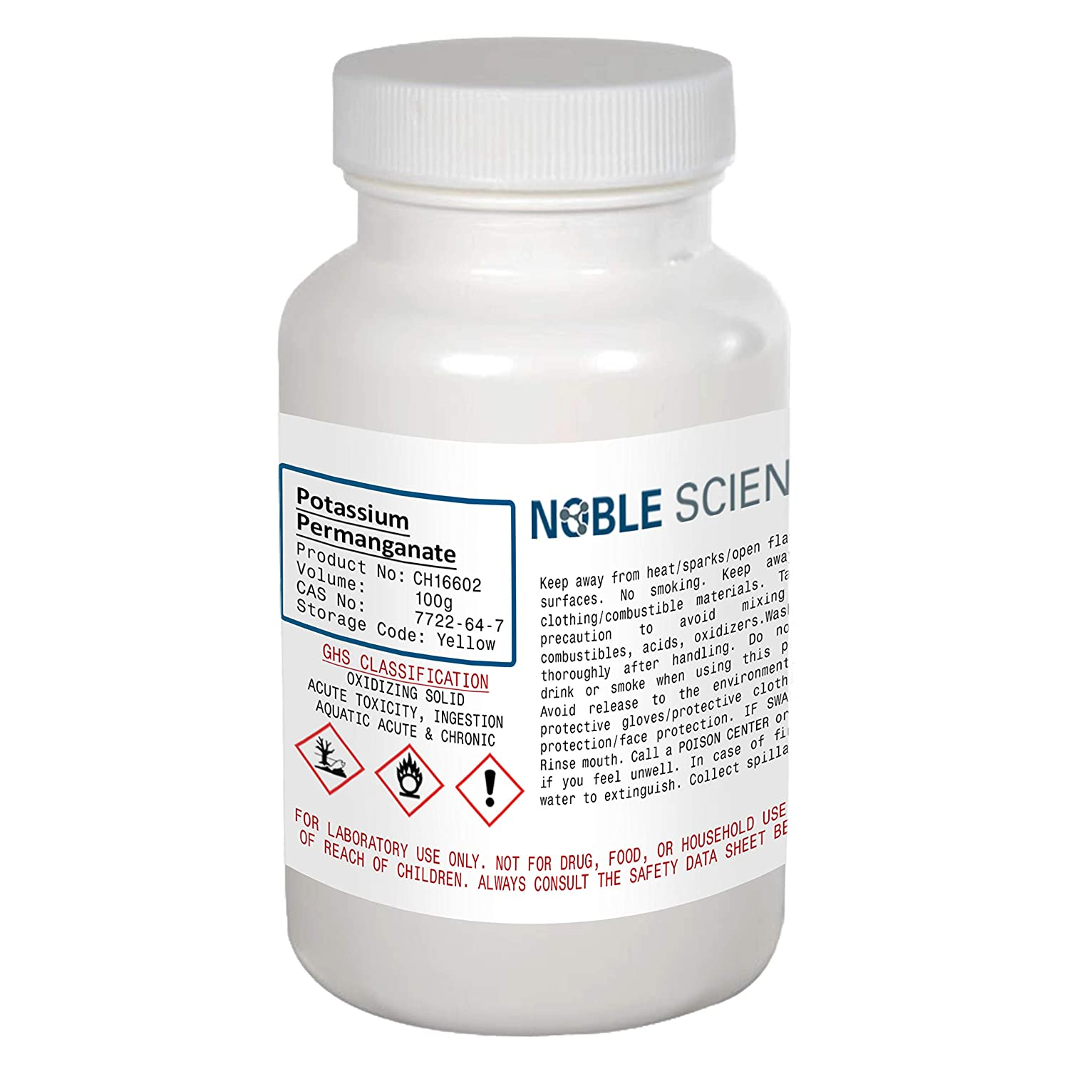 Potassium Permanganate Quantity limited Reagent KMnO4 Noble Ranking TOP10 100g by Scientific