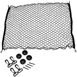 【N】天井ルーフネット 汎用 (LLサイズ 120×100cm) ラゲッジネット カーゴネット 汎用品 便利グッズ フォルクスワーゲン クロスゴルフ