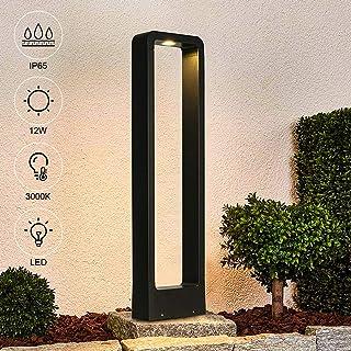 LEDMO Lámpara de Jardín Poste 12W 3000K, Poste de Jardín 60cm, Balizas Jardin Exterior IP65 a Prueba de Agua, Adecuado Para Patios, Caminos, Parques, etc.: Amazon.es: Iluminación