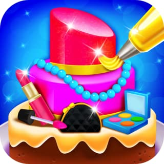 Pretty Makeup Cake Salon - Kids Dessert Food Maker & Cooking Games