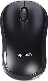 Logitech M175 - Ratón inalámbrico, 2.4 GHz, Color Negro
