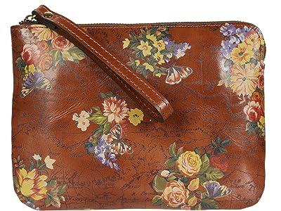 Patricia Nash Cassini Clutch (English Garden Floral Map) Handbags