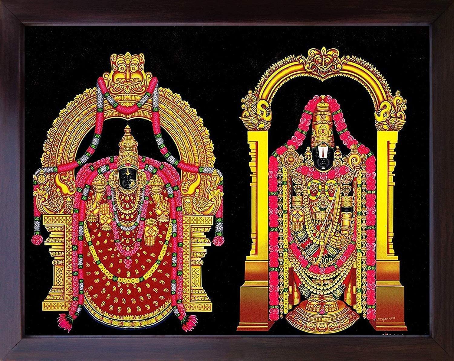 Handicraft Store Lord venkateswara and A padmavathi Hind At All items in the store the price of surprise Rare