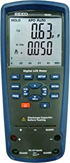 REED Instruments R5001 Passive Component LCR Meter, +/-1.5% Accuracy