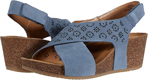 Chambray Cow Suede