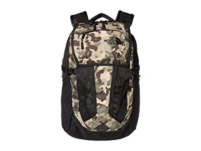 The North Face Recon (Burnt Olive Green Digi Topo Ripstop Print/TNF Black) Backpack Bags