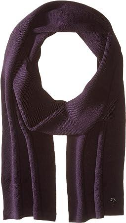 Z Zegna - Pearl Stitch Hydrorepellent Merino Wool Scarf