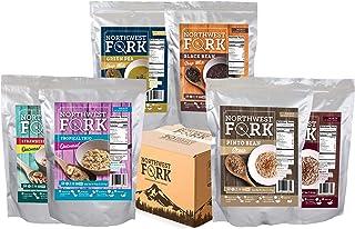 NorthWest Fork Gluten-Free 30 Day Emergency Food Supply (Kosher, Non-GMO, Vegan) - 10 Year Shelf Life - 90 Servings