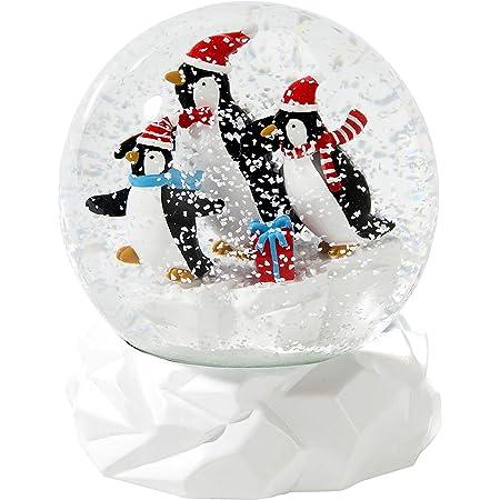 Schneekugel Tier Tiere Schneekugeln V/ögel Euro Souvenirs 2 Glitzerkugeln Wellensittiche 9 cm