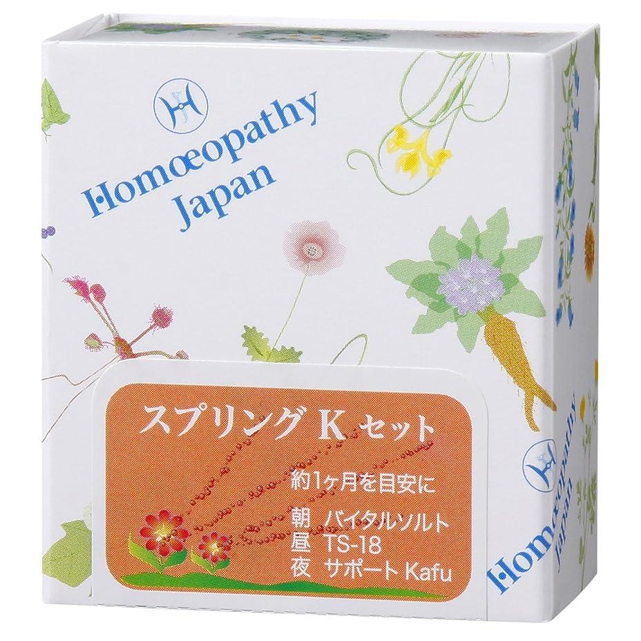 ハロウィン突撃シニスホメオパシージャパンレメディー スプリングKセット