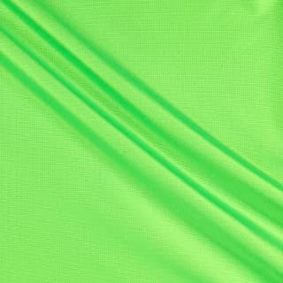 8.7 Oz Ottertex Polyurethane Coated Polyester Ripstop Neon Green, Fabric by the Yard