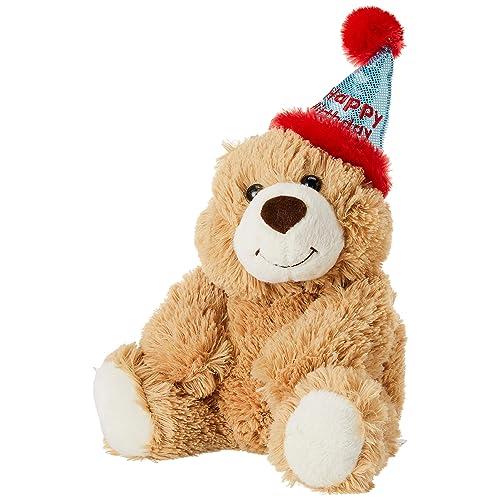 "Aurora - Bear - 12"" Happy Birthday Bear, Brown"
