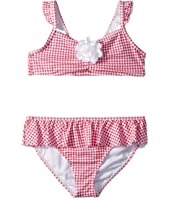 Gingham Two-Piece Swim Set (Toddler/Little Kids/Big Kids)