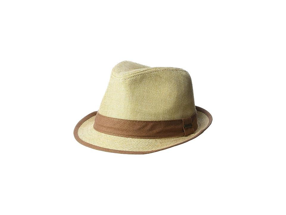 Stetson Polyester Fedora (Tea) Fedora Hats