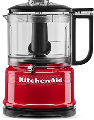 2021 KitchenAid KFC3516QHSD 100 Year Limited Edition Queen online of Hearts Food Chopper, 3.5 new arrival Cup, Passion Red (Renewed) outlet online sale