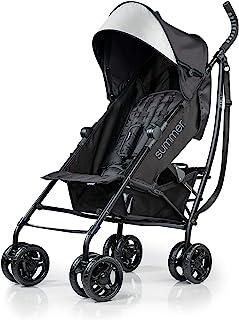 Summer Infant 3Dlite Convenience Stroller, Jet Black