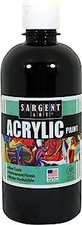 Sargent Art 24-2485 16-Ounce Acrylic Paint, Black