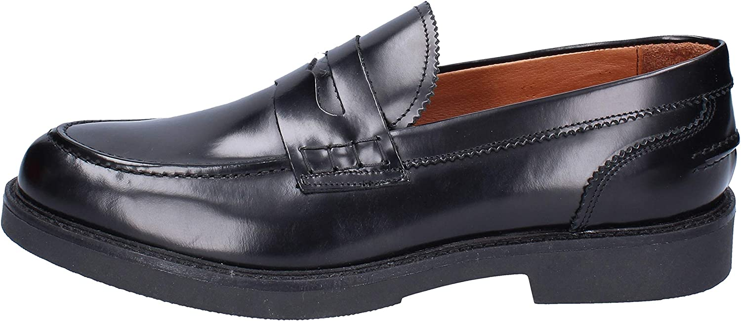 J. BREITLIN Loafers-shoes Mens Leather Black
