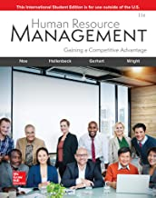 Human Resource Management 11Th Edition [Paperback] Noe