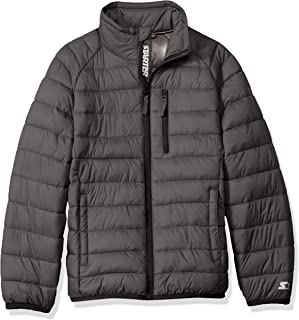 Boys' Packable Puffer Jacket, Amazon Exclusive
