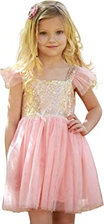 Heart to Heart Birthday Dress for Little Girls Princess Ballerina Party