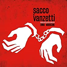 Sacco E Vanzetti Ost (Limited Transparent & Red Swirled Vinyl/180G/Pvc Sleeve/Numbered)