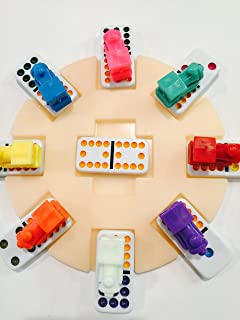 Mexicantrainfun Large Domino Train Markers w/ Hub