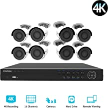 Best 4k hd security camera system Reviews