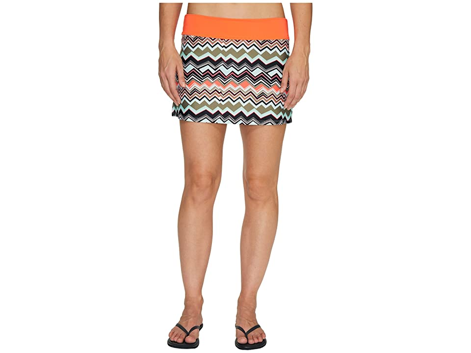 Lole Barcela Skirt (Lichen Chevron Stripe) Women
