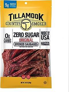 Tillamook Country Smoker Zero Sugar Original Keto Friendly Smoked Sausages, 10 Ounce