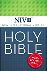 NIV, Holy Bible, Red Letter Kindle Edition